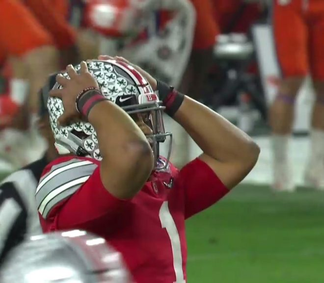 CLEMSON RALLIES TO BEAT OHIO STATE IN FIESTA BOWL. JOYCE MOVES INTO 2nd