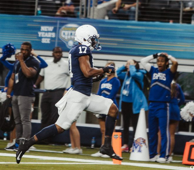 NOON GAMES UPDATE: PENN STATE WINS COTTON BOWL, SARAH STILL IN THE LEAD